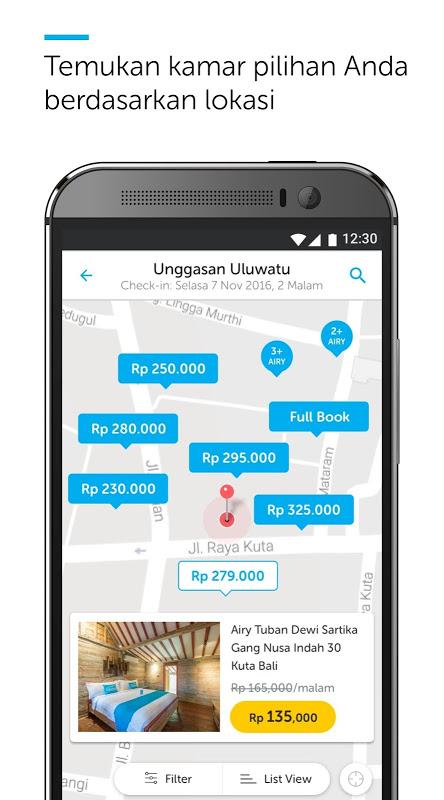 Android Airy Rooms - Kamar Hotel Murah Screen 4