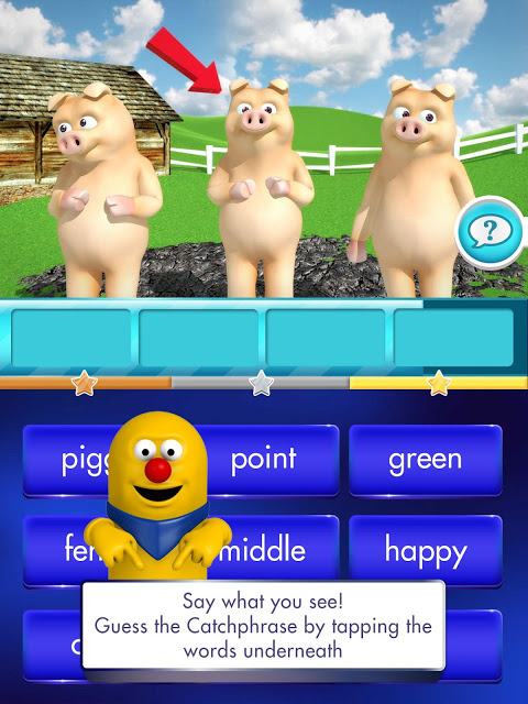 Android Catchphrase Quest Screen 1