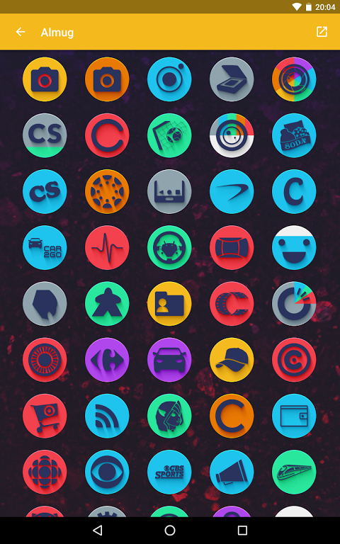 Android Almug - Icon Pack Screen 11