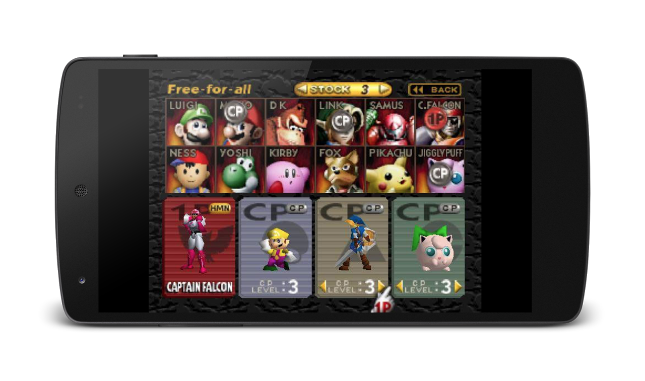 MegaN64 (N64 Emulator) 5.0 Screen 1