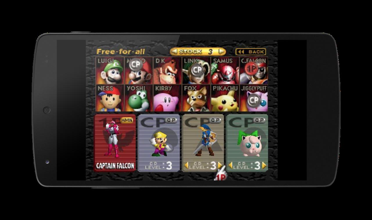 MegaN64 (N64 Emulator) 5.0 Screen 1
