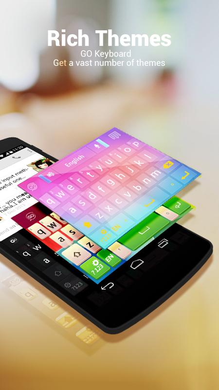 GO Keyboard - Emoji, Emoticons 2.20 Screen 8