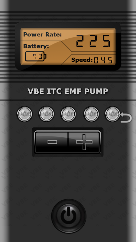 VBE ITC EMF PUMP 1.0 Screen 2