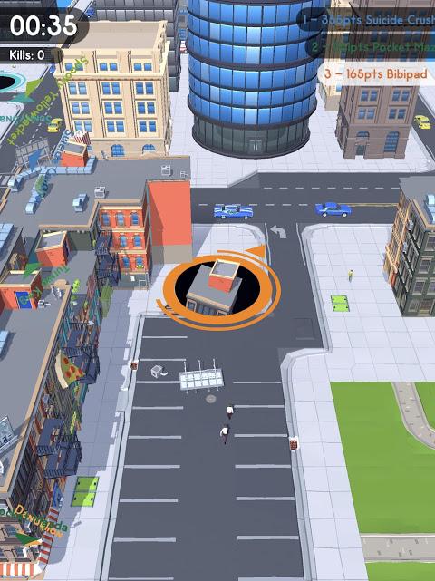 Android Hole.io Screen 7
