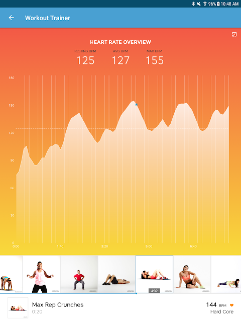 Android Workout Trainer: fitness coach Screen 16