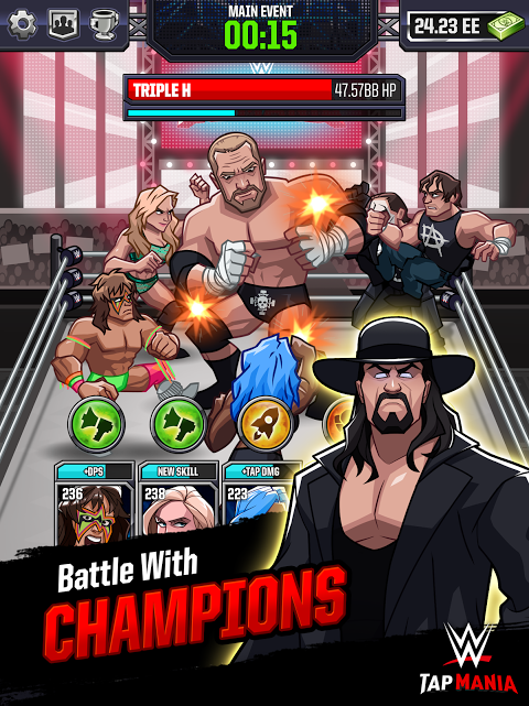 Android WWE Tap Mania Screen 8