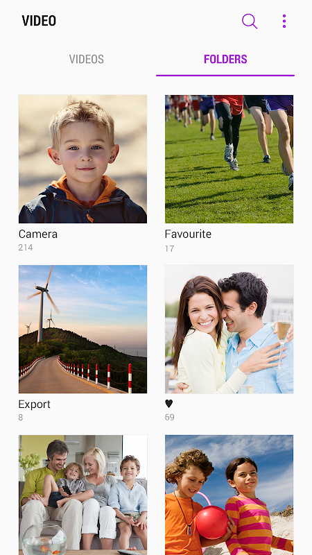 Samsung Video Library 1.4.12.5 Screen 2