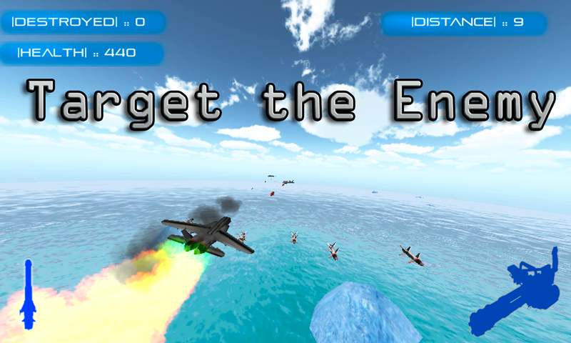 Android Jet Fighter: Air Combat Screen 2