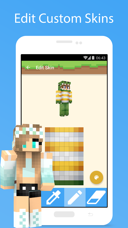 MCPE Skin Studio 4.0.1 Screen 3