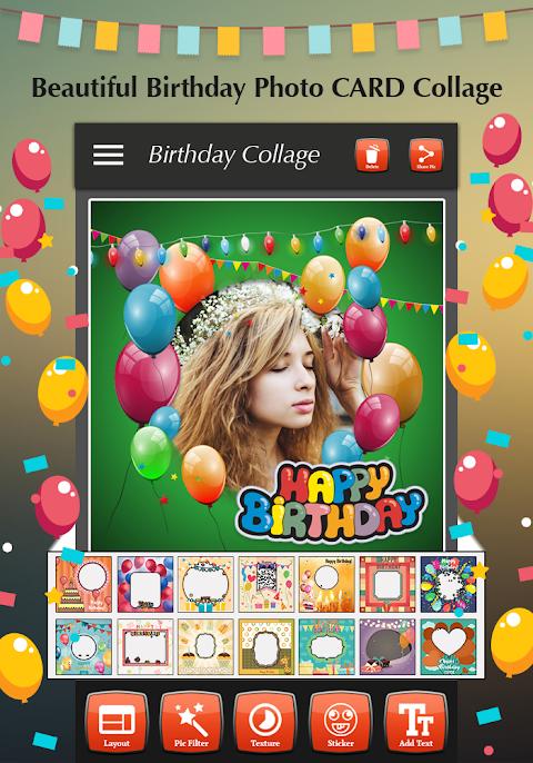 Happy Birthday Photo Collage 1.4 Screen 2