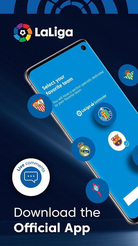 La Liga - Spanish Football League Official 7.3.8 Screen 6