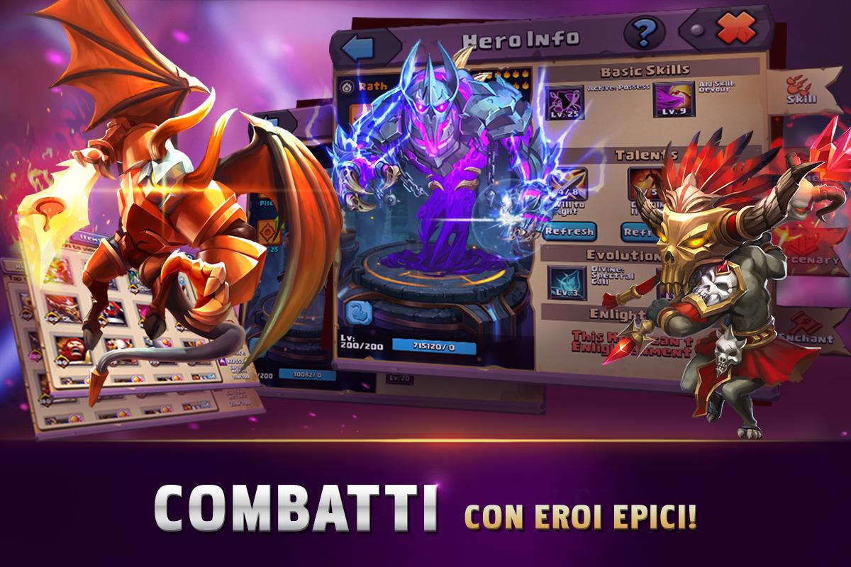 Clash of Lords 2: Italiano 1.0.163 Screen 1