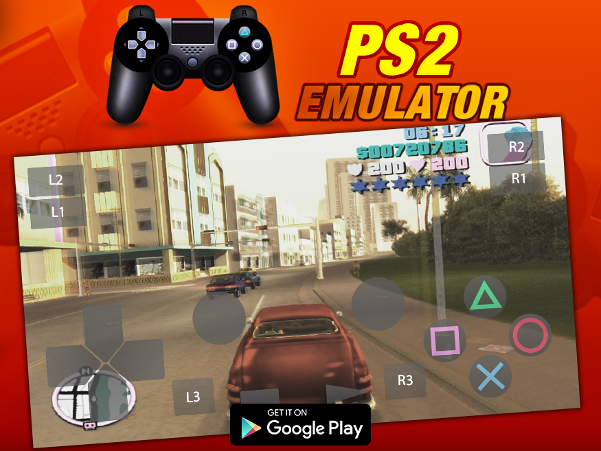 Free HD PS2 Emulator - Android Emulator For PS2 APKs