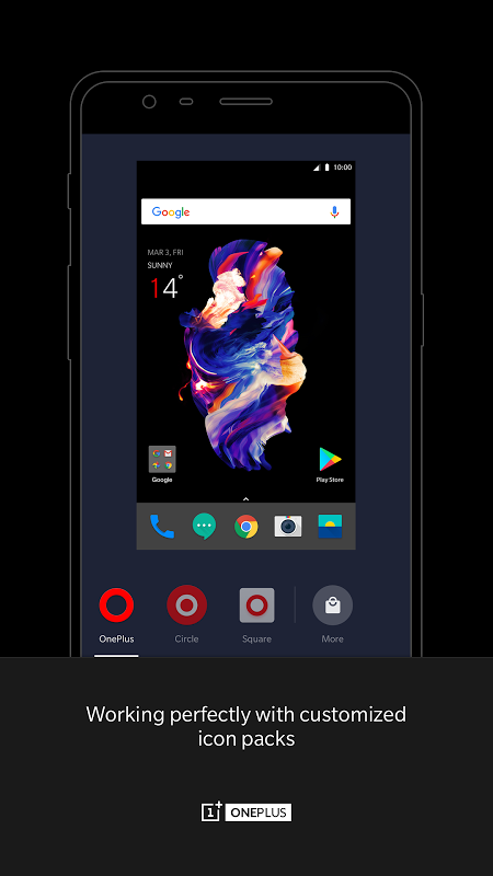 OnePlus Launcher 2.5.1.180803161901.ff750b1 Screen 2