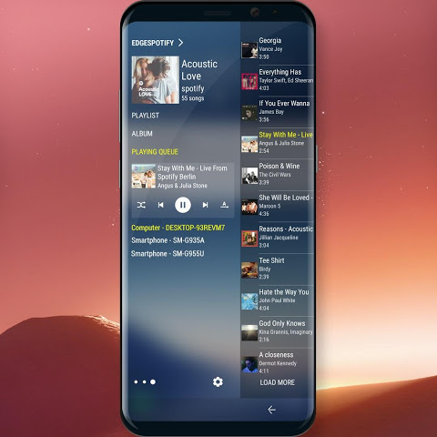 Edge Panel for Spotify Music 1.3 Screen 1