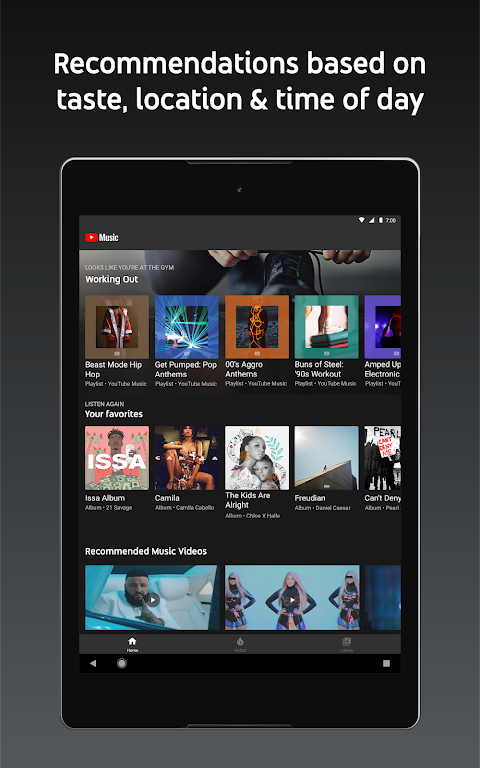 YouTube Music - Stream Songs & Music Videos 3.37.55 Screen 7