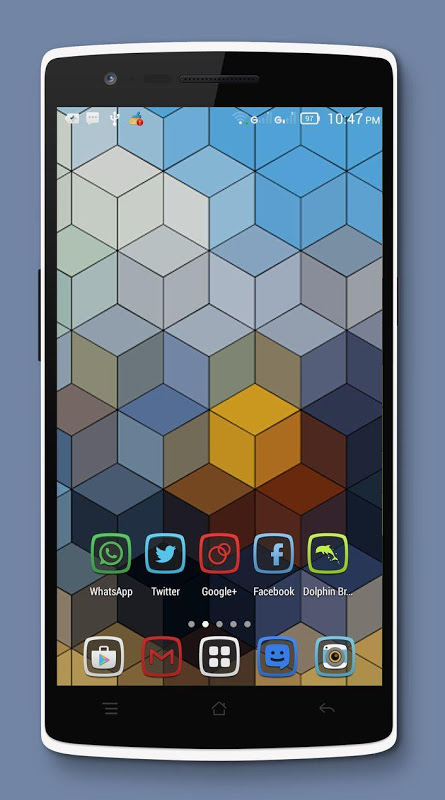 Android Tembus - Icon Pack Screen 4