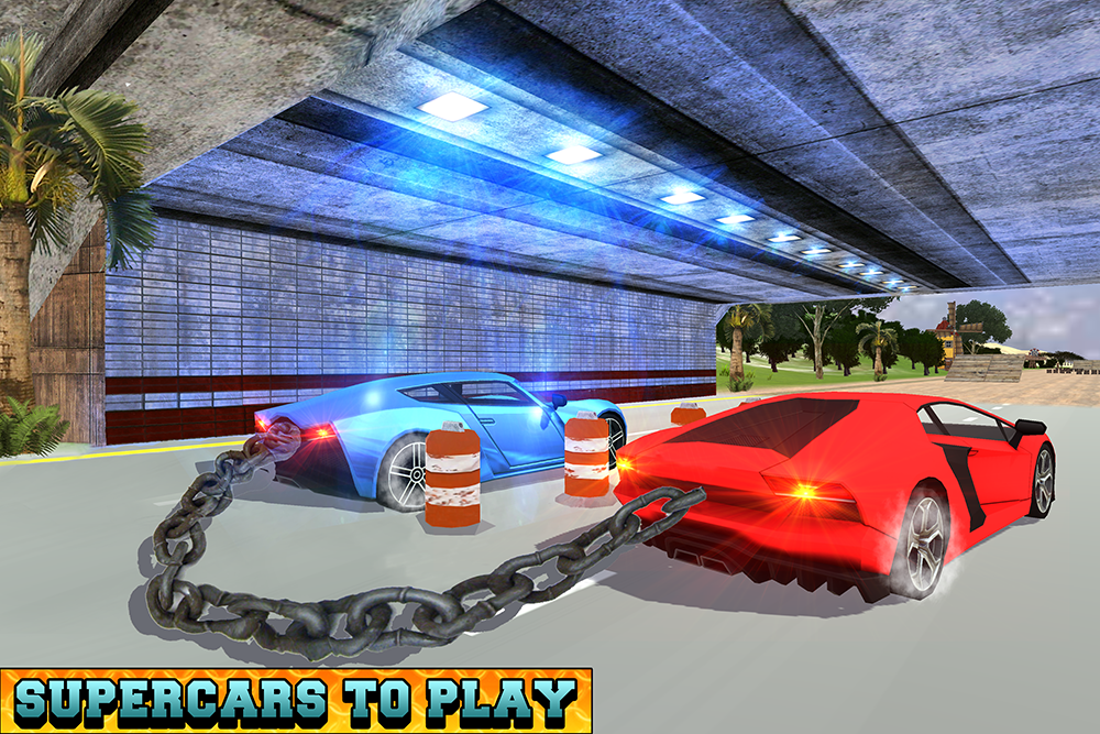 Android Chained Cars Racing Stunts Screen 11