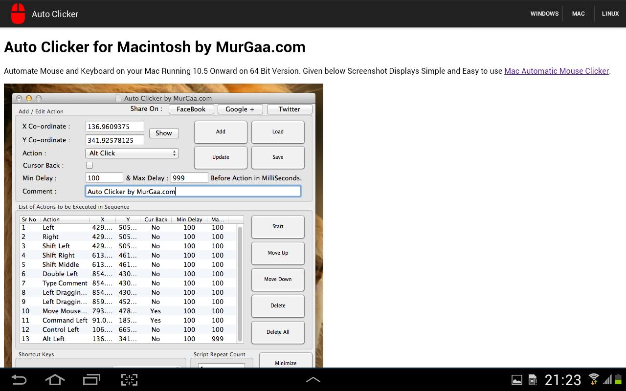 Auto Clicker 1 0 APK Download by MurGoo   Android APK