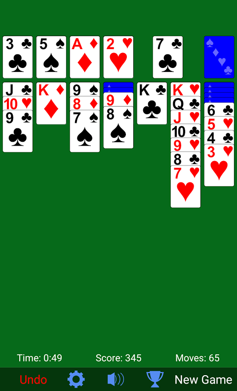 Solitaire 3.3.3 Screen 2