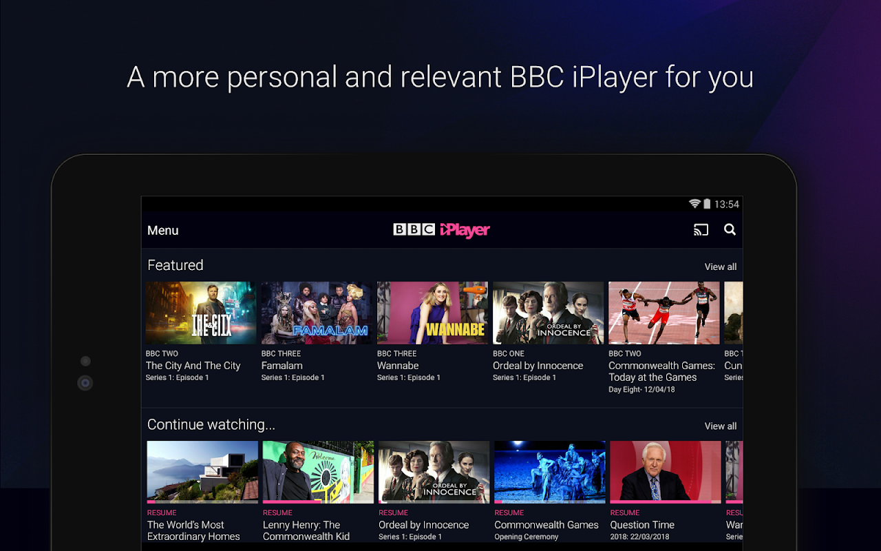 Android BBC iPlayer Screen 17