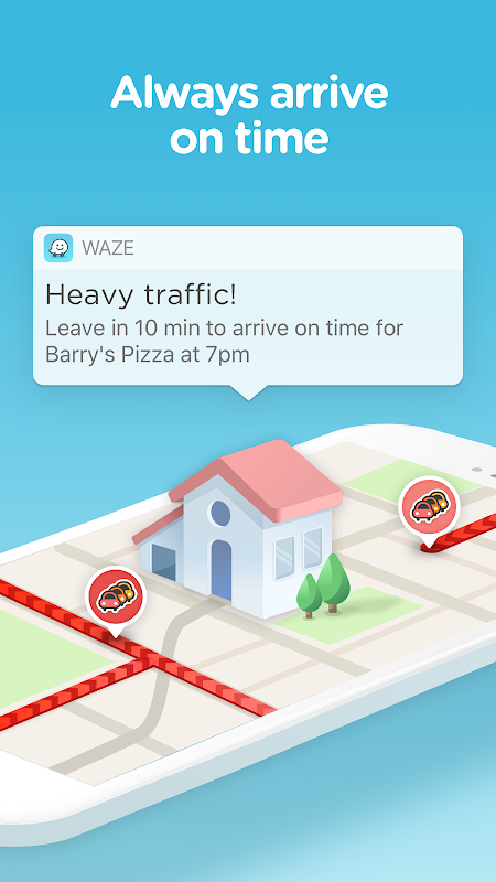 Waze - GPS, Maps, Traffic Alerts & Sat Nav 4.45.0.0 Screen 2