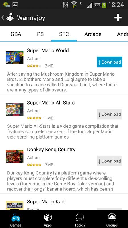 Emulator All In 1 Wannajoy Pro APKs   Android APK