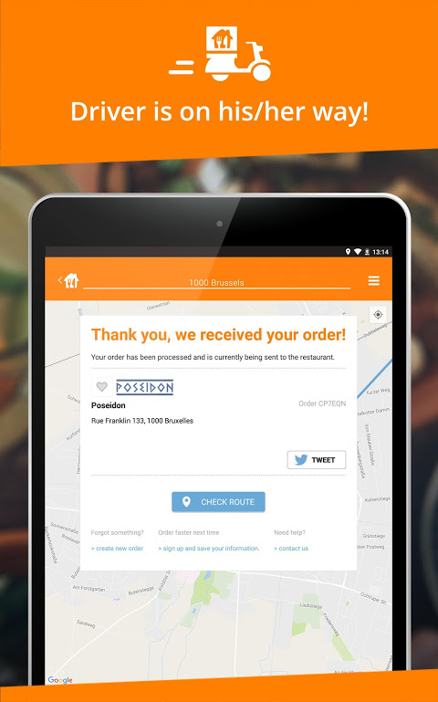 Takeaway.com - Belgium 4.22.2 Screen 6