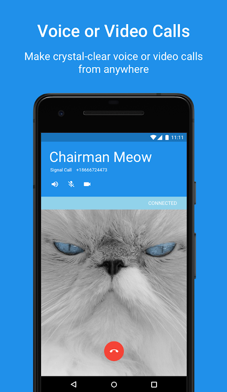 Android Signal Private Messenger Screen 1