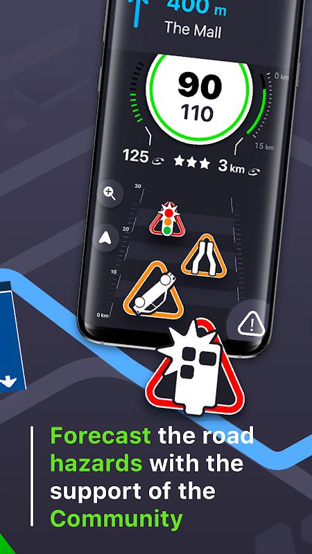 Coyote: Alerts, GPS & traffic 11.0.672 Screen 3