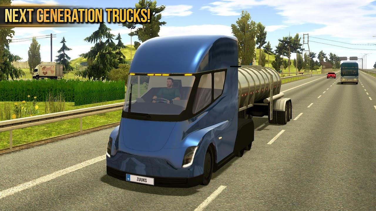 Android Truck Simulator 2018 : Europe Screen 4