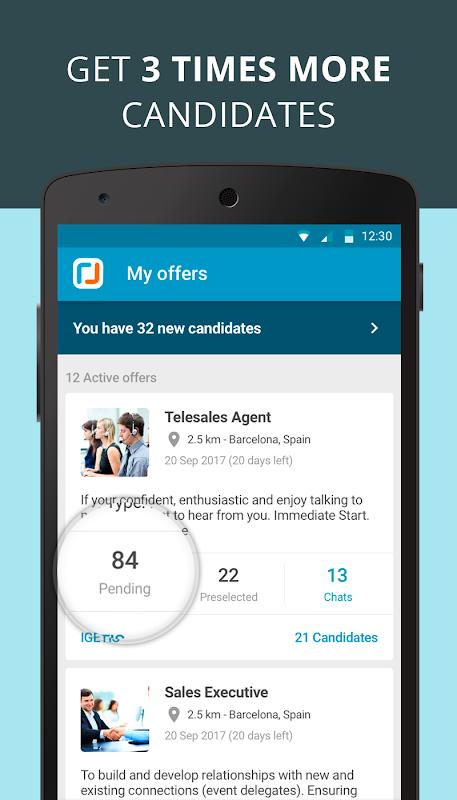 CornerJob - Job offers, Recruitment, Job Search 1.5.3 Screen 5