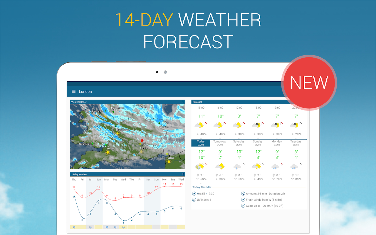 Weather & Radar UK 4.41.2 Screen 7