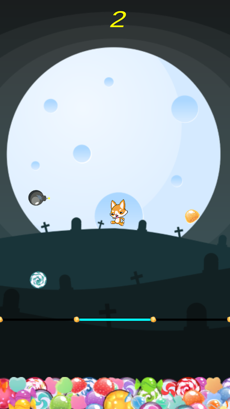 Swiping Cat 2.0.1 Screen 1
