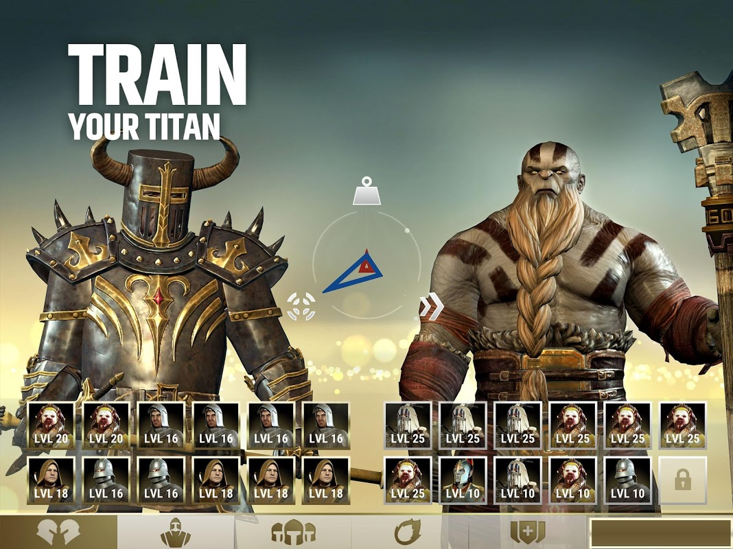 Android Dawn of Titans - Epic War Strategy Game Screen 6