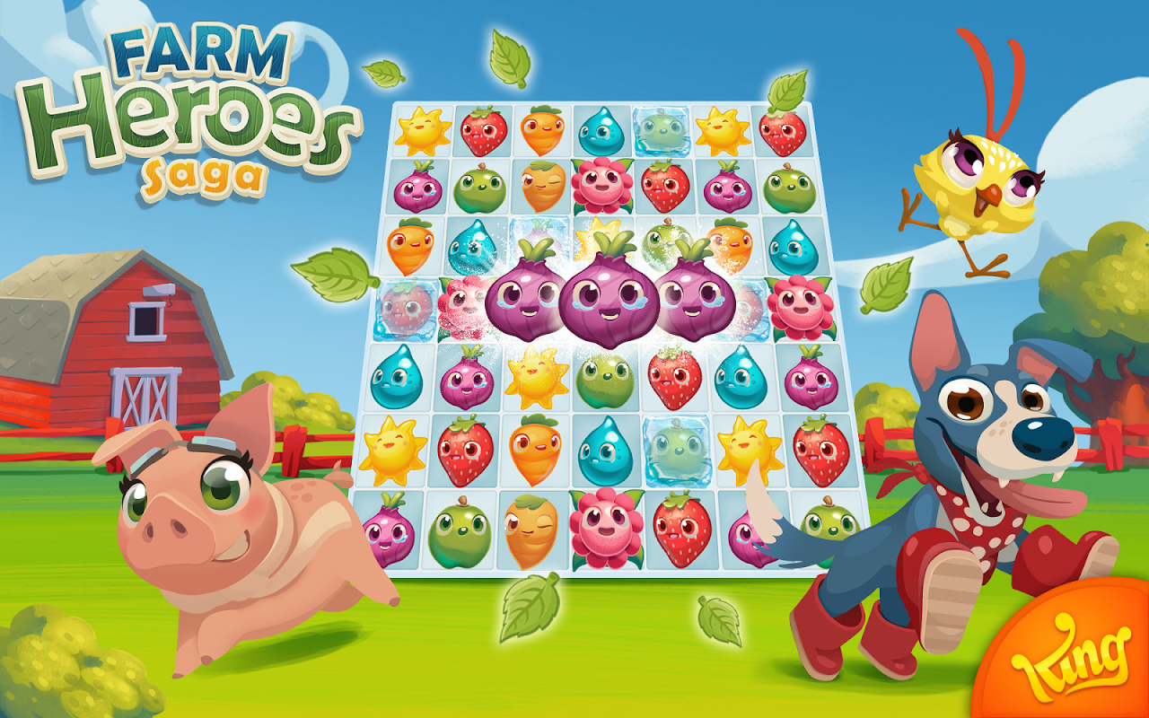 Android Farm Heroes Saga Screen 13
