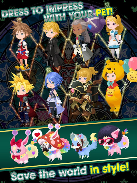 Android KINGDOM HEARTS Union χ[Cross] Screen 13