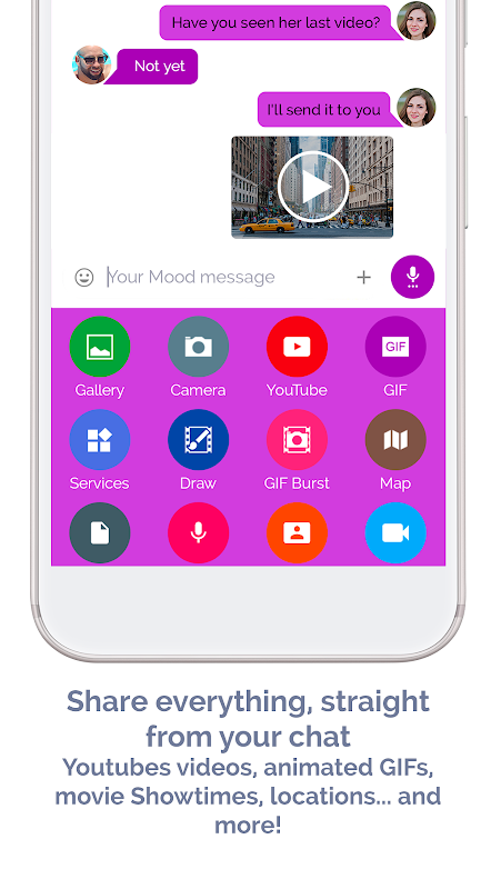 Android Mood Messenger - SMS & MMS Screen 13