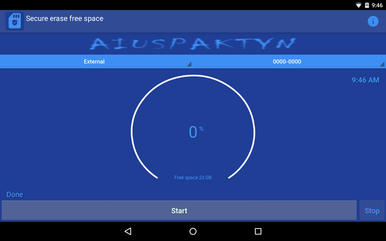 Android Secure Eraser Screen 6