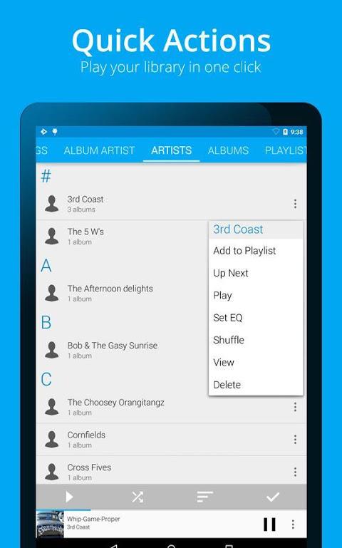 Android Rocket Player Premium Audio Screen 20