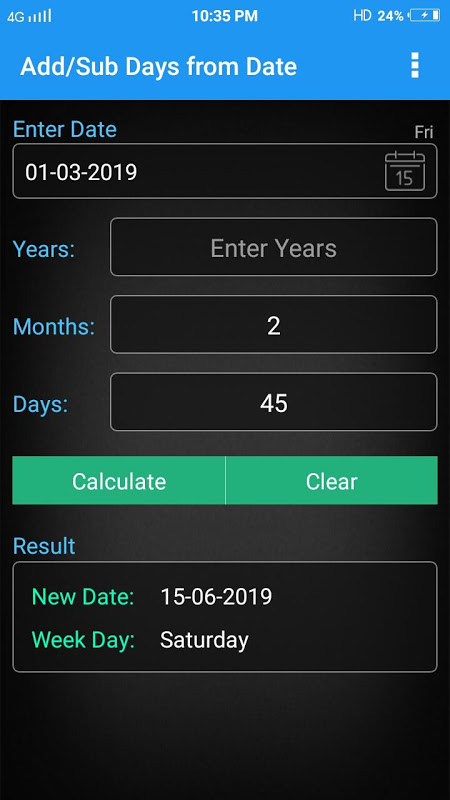 Age Calculator 6.1 Screen 5