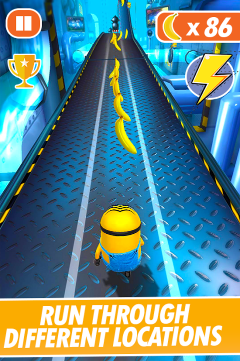 Banana Minion Adventure Rush : Legends Rush 3D 4.1 Screen 1