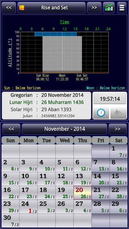 Sun & Moon Calendar v3.6.0 Screen 21