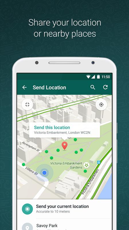 WhatsApp Messenger 2.17.154 Screen 4