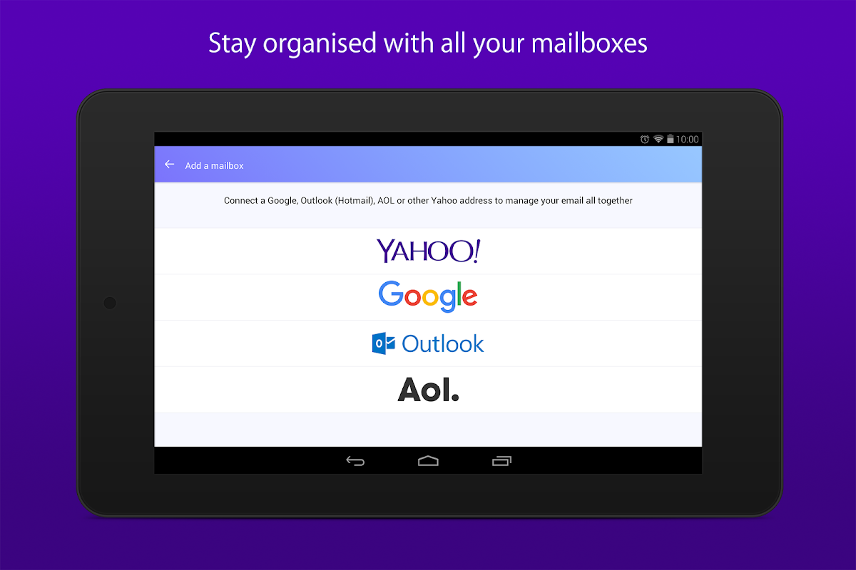 Android Yahoo Mail – Stay Organized Screen 6