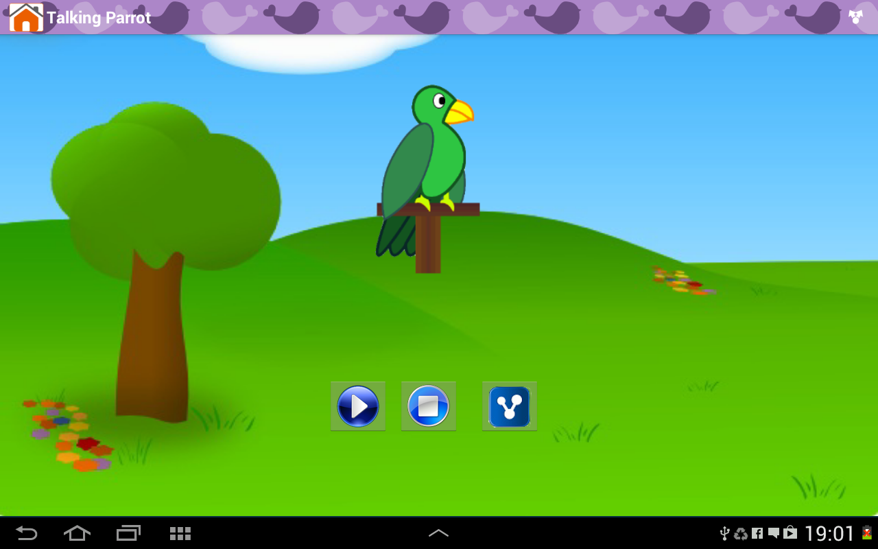 Android Animal Sounds & Talking Parrot Screen 9