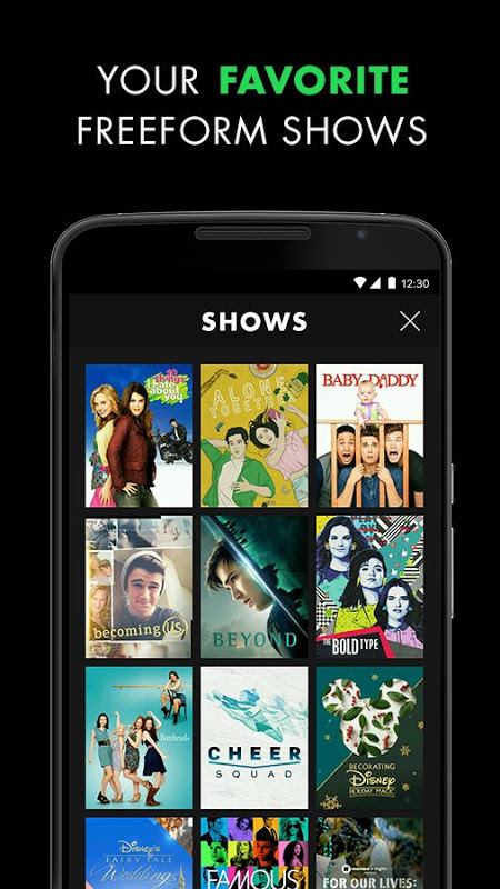 Android Freeform – Stream Full Episodes, Movies, & Live TV Screen 4