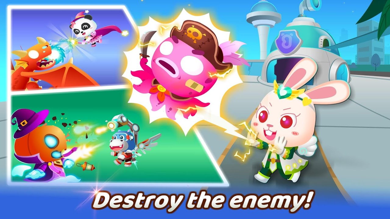 Android Little Panda's Hero Battle Game Screen 3