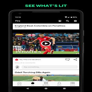 Android Bleacher Report Screen 2