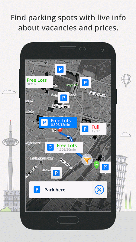 GPS Navigation & Maps Sygic 17.0.7 Screen 6